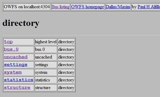 Résultat d'owhttp avec le DS9490R