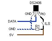 DS2406 ILS sur PIO. Non testé.