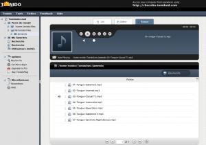 Tonido Steam la musique