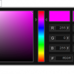 Color Picker pour DMX