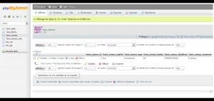Sonde 1-wire dans la base MySQL via phpmyadmin