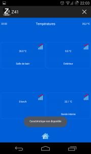 Ecran graphiques Z41 Remote Android