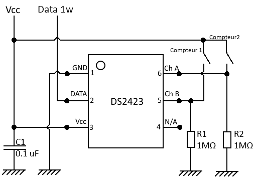 ds2423 schéma